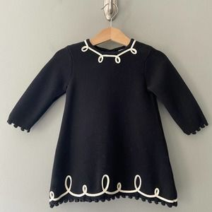 Hanna Andersson Milano Sweater Dress 6/12 Months